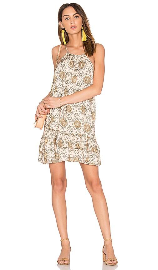 Blush Flowers Mini Dress