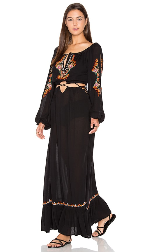 FARM Maxi Dress in Black