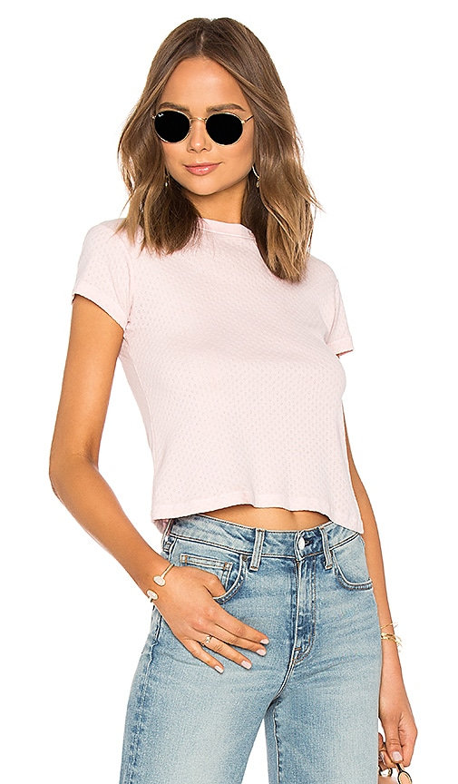 Sarah Pointelle Top by Father's Daughter
