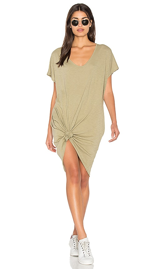 Fine by Superfine Spill Dress in Green