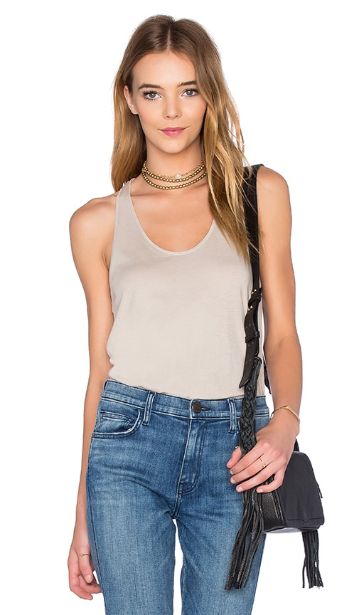 Fine by Superfine Vest Tank in Gray