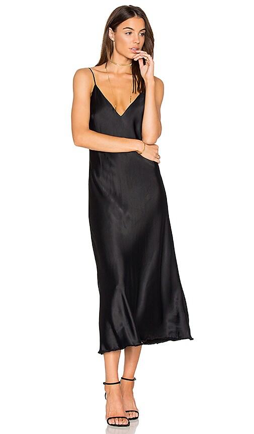 FRAME Denim Tank Dress in Black