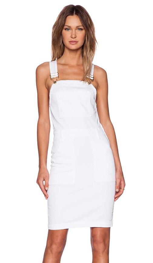 Denim Le High Pencil Skirt Dress