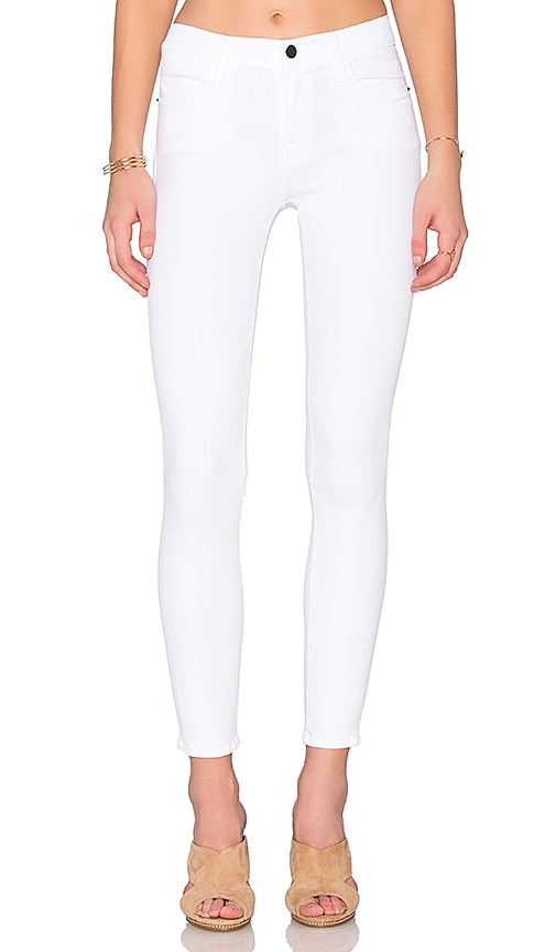 FRAME Denim Le High Skinny in White