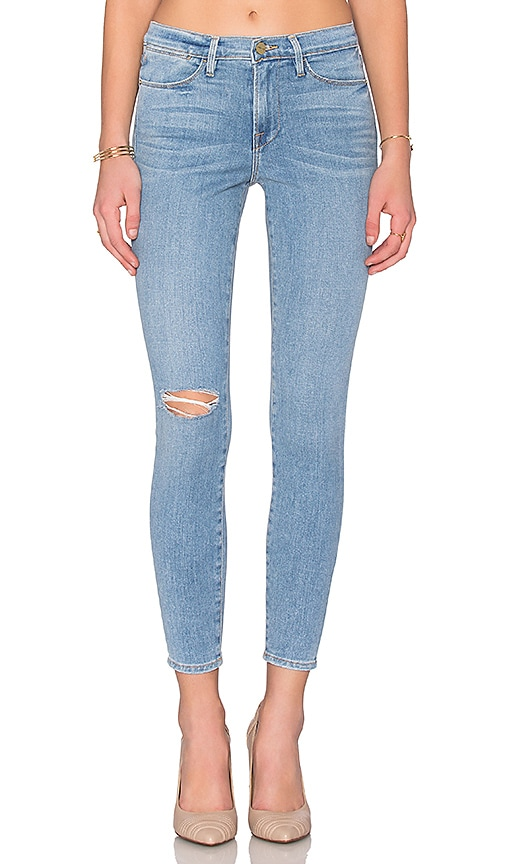 FRAME Denim Le High Skinny in Hamel