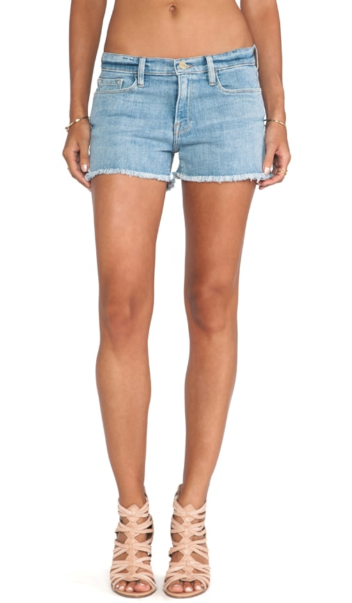Denim Le Cutoff Short