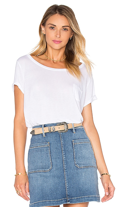 FRAME Denim Le Boxy Tee in White