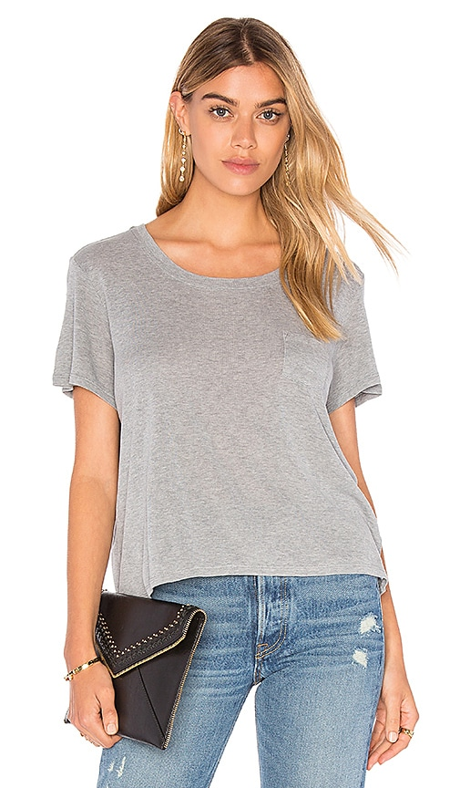 FRAME Denim Le Easy Tee in Gray