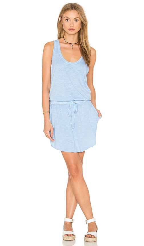 Feel the Piece Maier Tank Dress in Blue