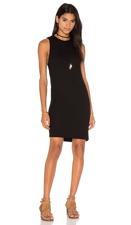 Feel the Piece Josie Dress in Black