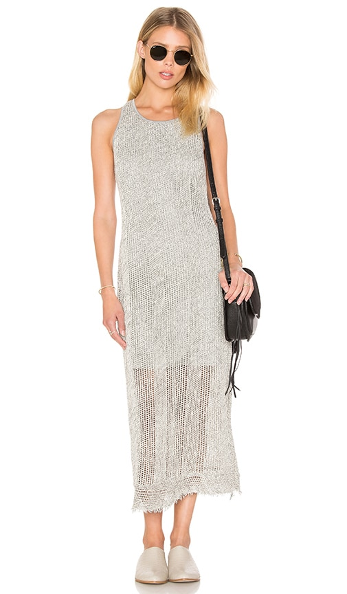 Feel the Piece James Tank Dress in Light Gray