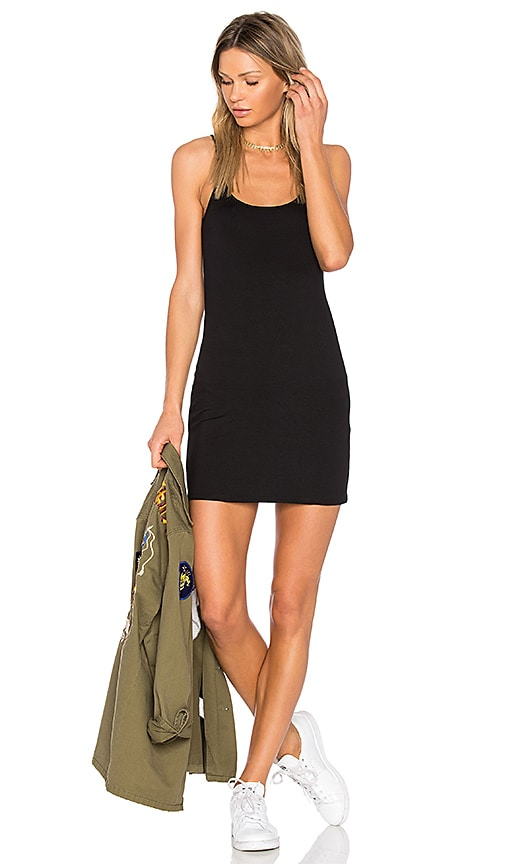 Feel the Piece Ashcroft Tank Dress in Black