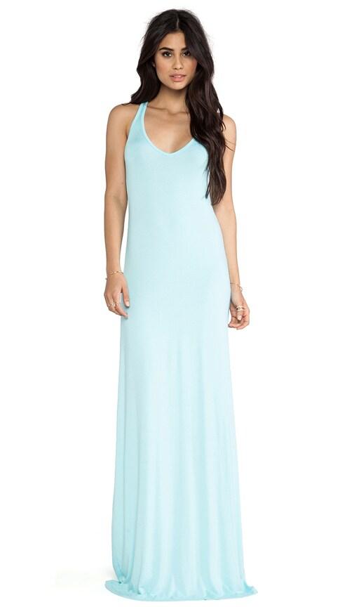 V Maxi Dress