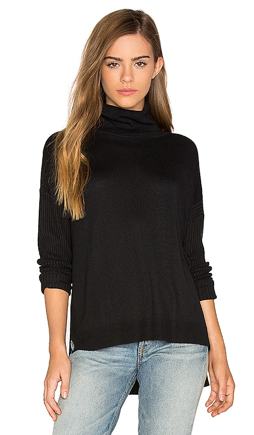 Feel the Piece Jessica Sweater in Black