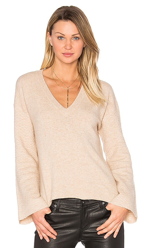 Feel the Piece Wesley Sweater in Tan
