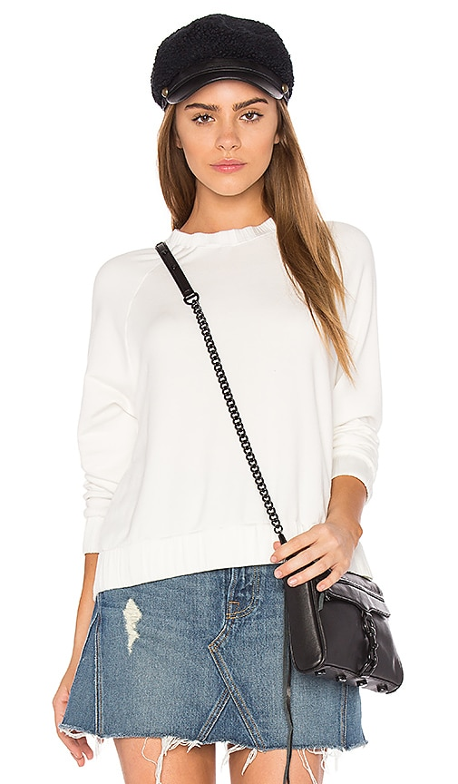 Feel the Piece Lonie Sweater in White