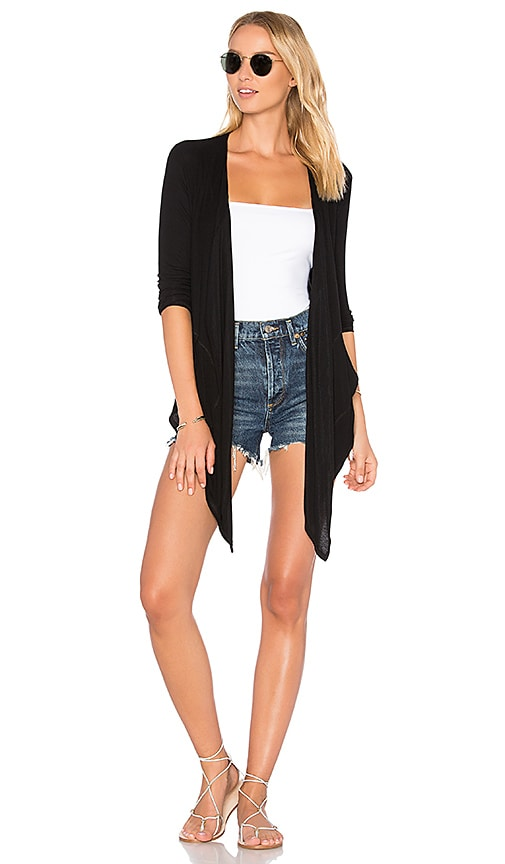 Feel the Piece Dorothy Cardigan in Black