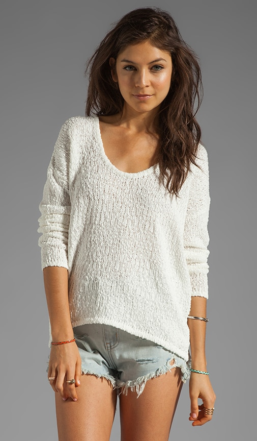 Long Sleeve Hi Lo Sweater