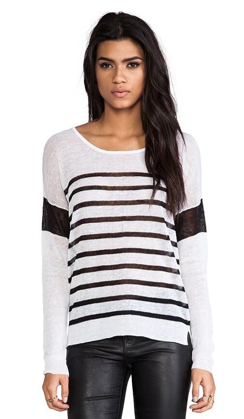 Serena Striped Sweater