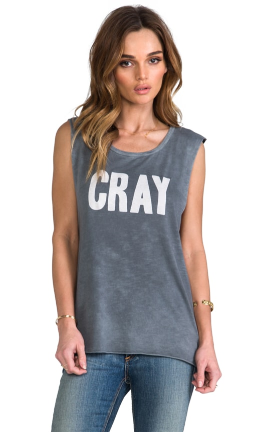 x Tyler Jacobs Washed Cray Muscle Tank