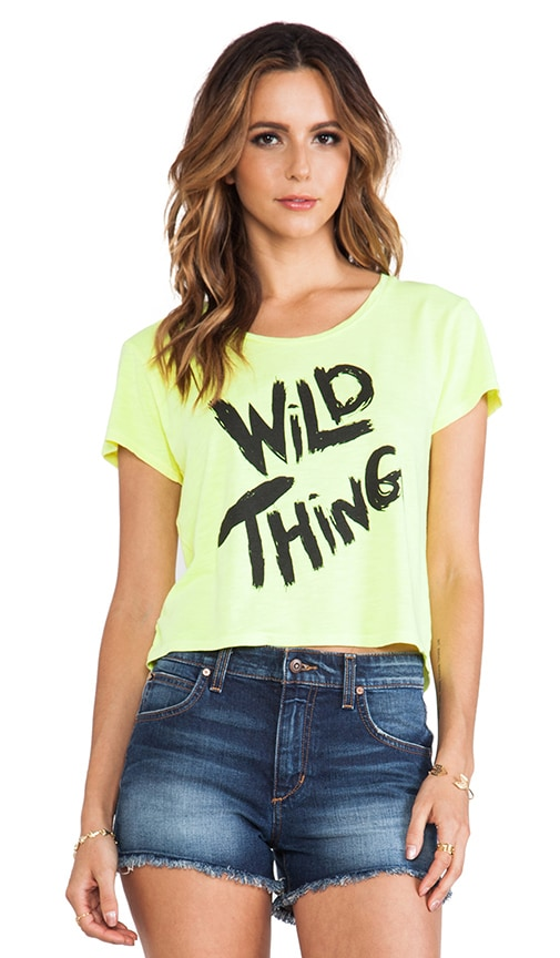 x Tyler Jacobs Wild Thing Crop Tee