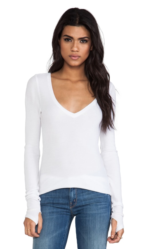 Viper Thermal V Neck with Thumb Holes