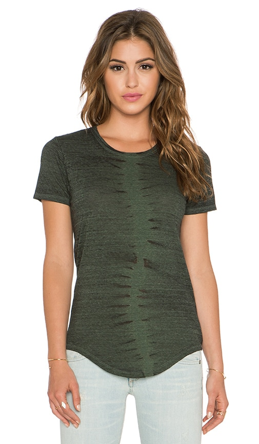 Feel the Piece x Tyler Jacobs Charlie Tee in Army Burnout
