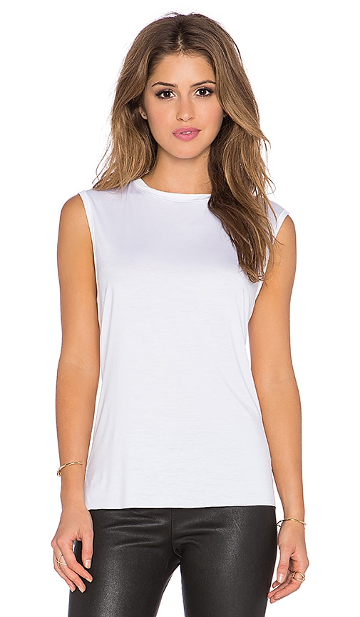 Feel the Piece Orlan Muscle Tank in White