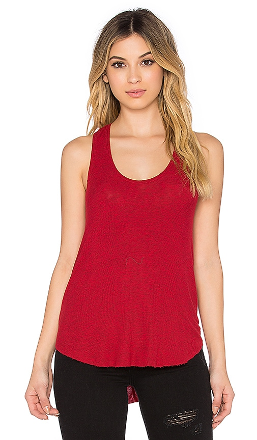 Feel the Piece Lilith Tank in Heather Rouge