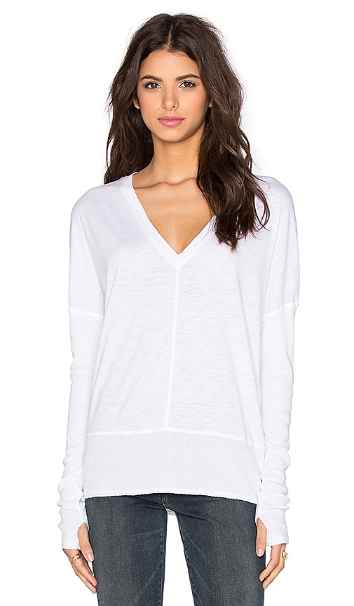 Feel the Piece Roeman Top in White