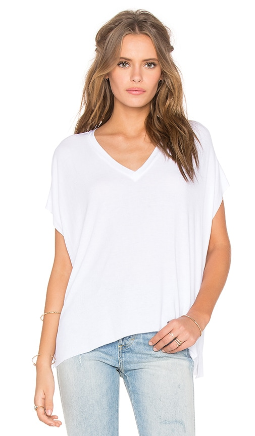 Feel the Piece Vix Tee in White