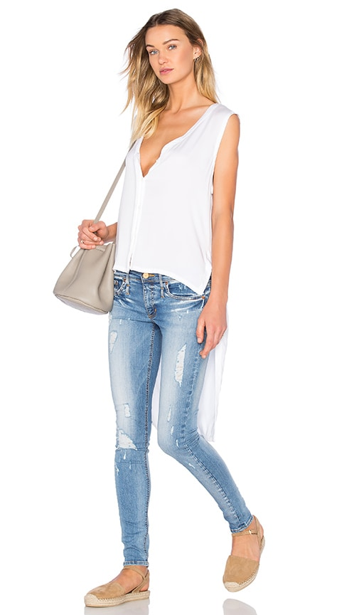 Feel the Piece Easton Hi Low Tank in White