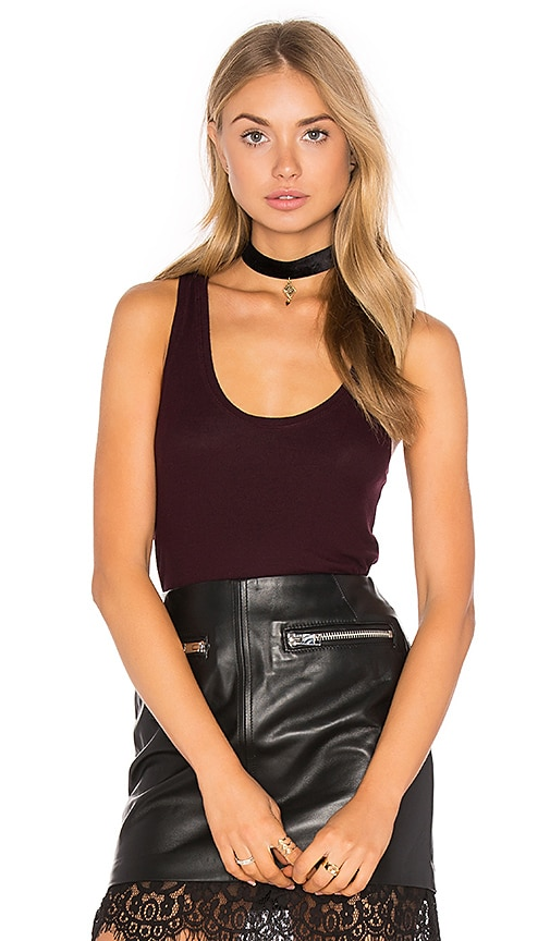 Feel the Piece Lilith Tank in Wine