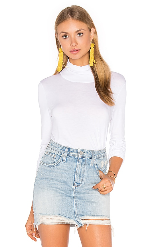 Feel the Piece Rex Top in White