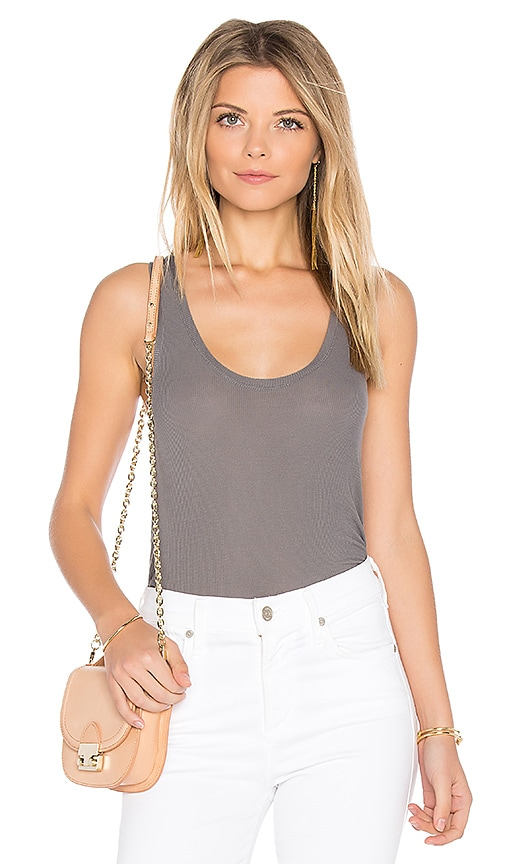 Feel the Piece Lilith Tank in Gray