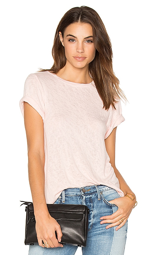 Feel the Piece Lark Tee in Pink