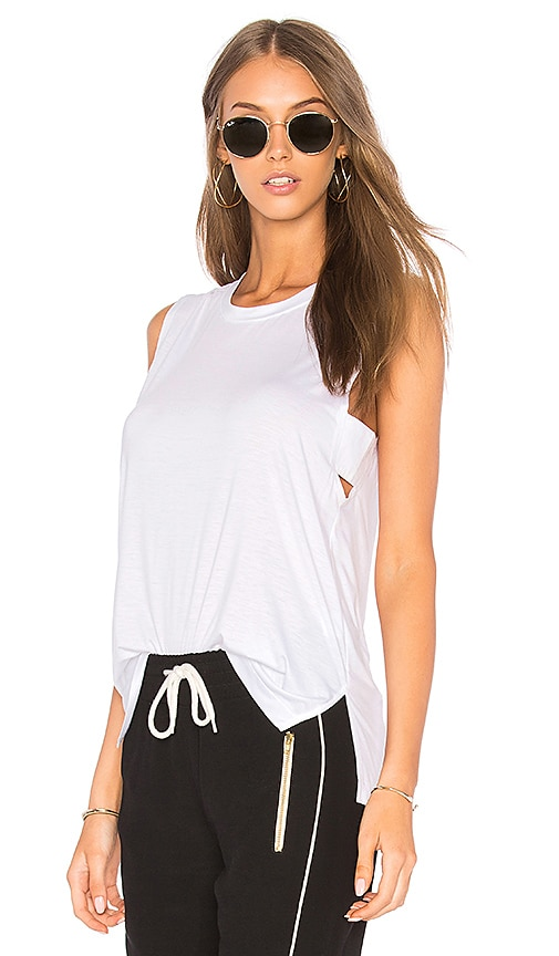 Feel the Piece Bentley Tank in White
