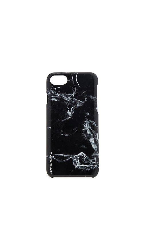 Felony Case Polished Marble iPhone 7 Case in Black