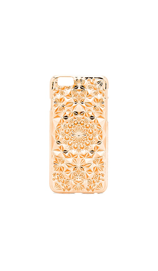 Felony Case Kaleidoscope iPhone 6 Case in Metallic Copper