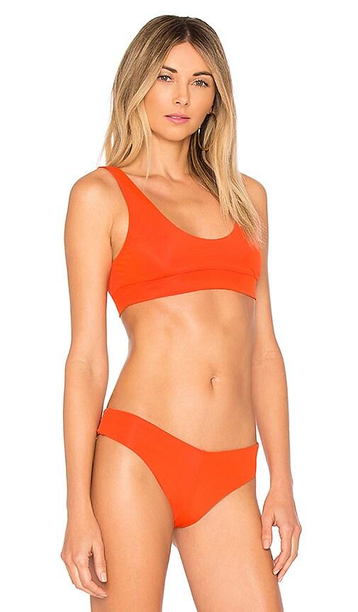f199601a20 Promo Code F E L L A Romeo Bikini Top in Burnt Orange