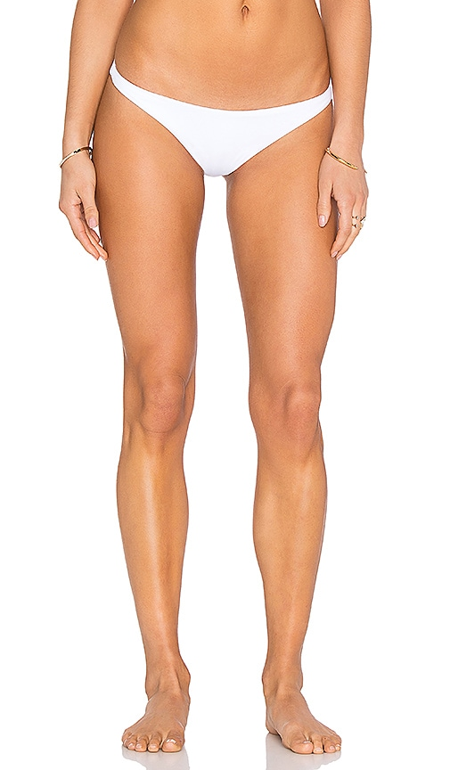 F E L L A Jasper Bikini Bottom in White