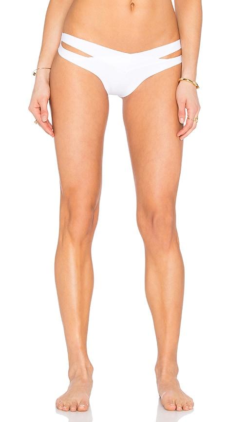 F E L L A Marky Mark Bikini Bottom in White
