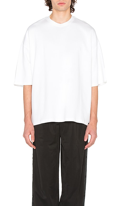 Fenty by Puma Oversized Crew Neck T Shirt in White