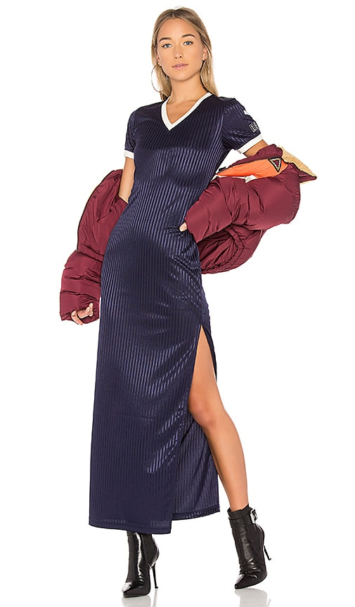 Fenty by Puma Jersey Maxi Dress in Navy