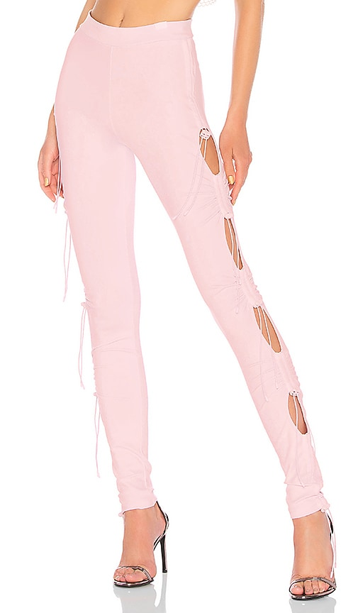 Fenty by Puma Ruching Legging in Pink