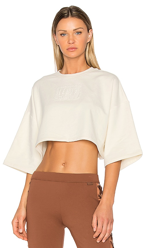 Fenty by Puma Cropped Tee in White