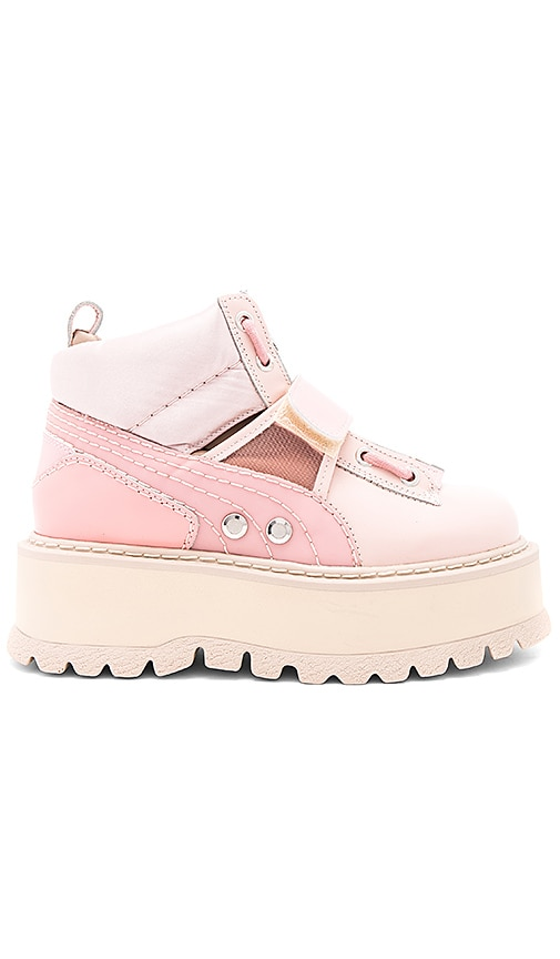 Fenty by Puma Strap Sneaker Boot in Pink