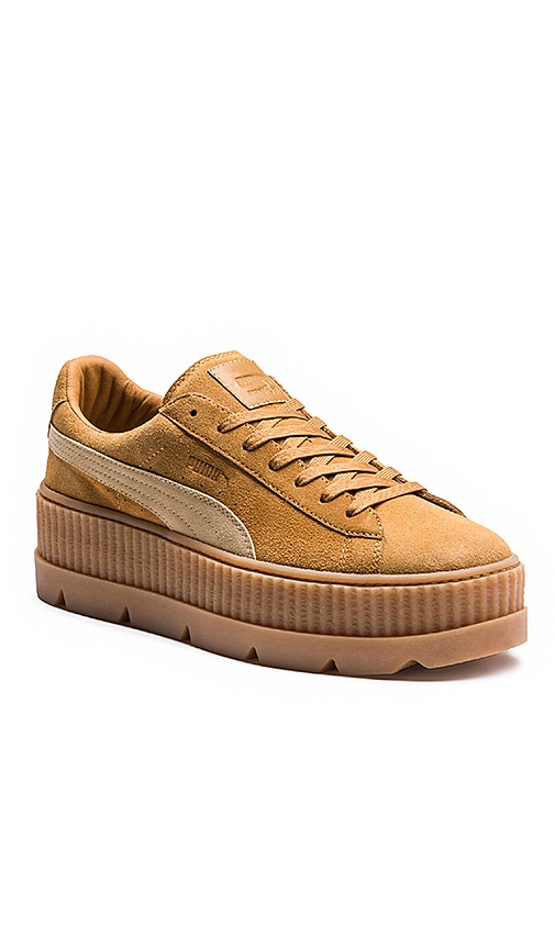 37406794ea01 Cleated Creeper Suede Sneaker. Cleated Creeper Suede Sneaker. Fenty by Puma