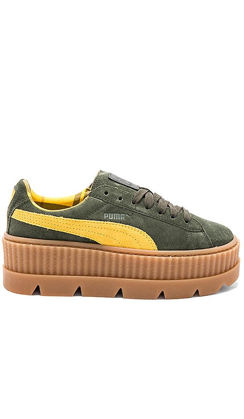 Cleated Suede Creeper. Cleated Suede Creeper. Fenty by Puma 6d8a06d2d
