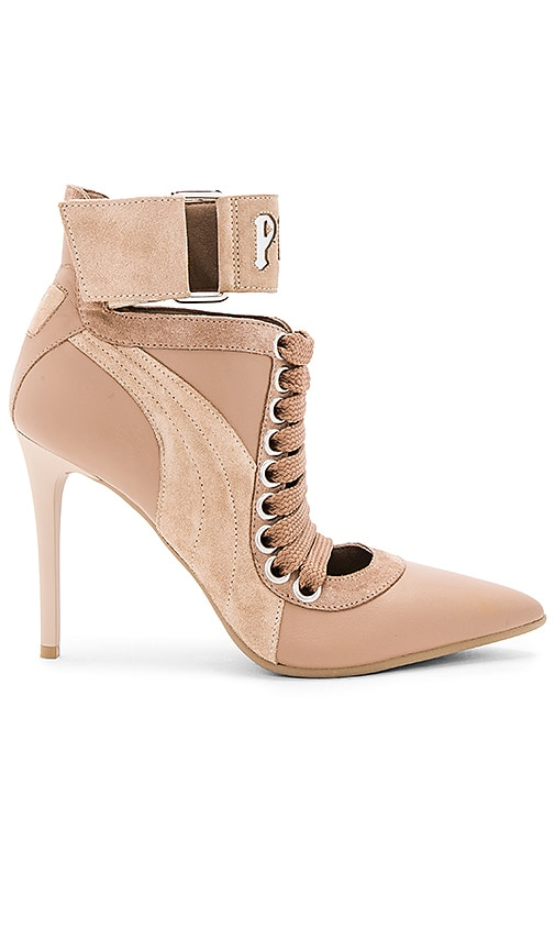 Fenty by Puma Lace Up Heel in Tan